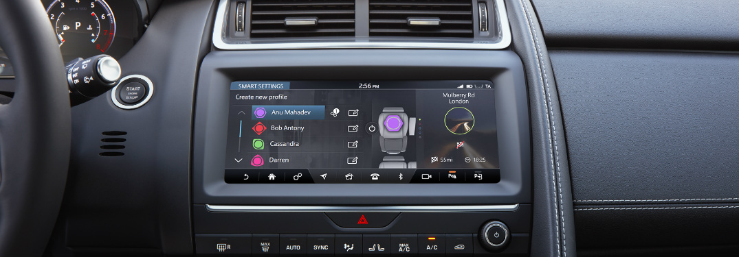 How do I update my Jaguar infotainment system?