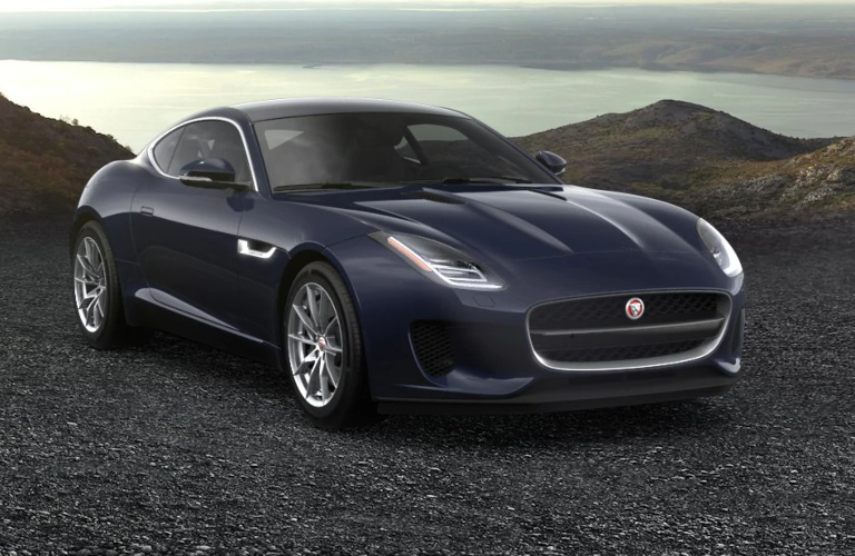 2020 Jaguar F-Type Balmoral Blue