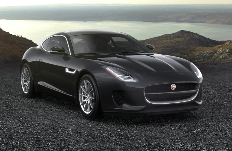 2020 Jaguar F-Type Borealis Black