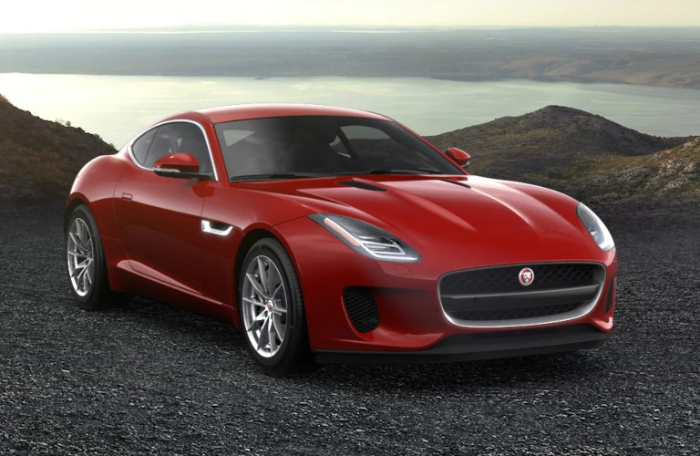 2020 Jaguar F-Type Caldera Red