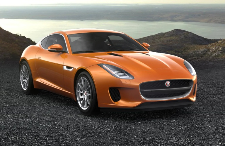 2020 Jaguar F-Type Madagascar Orange
