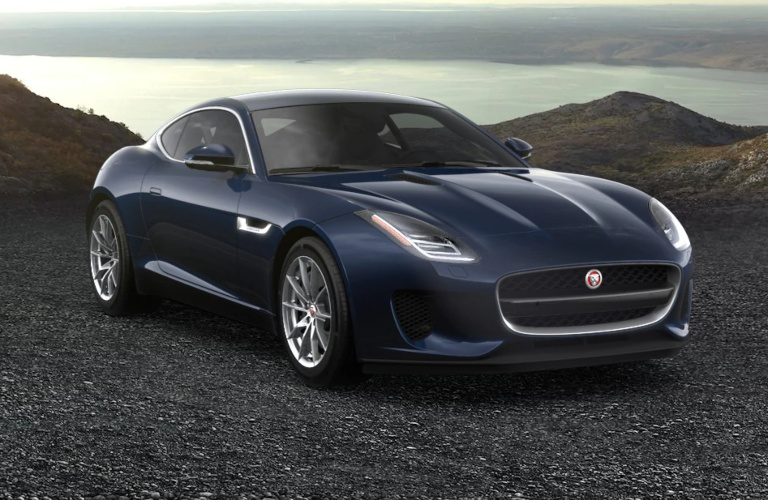 2020 Jaguar F-Type Portofino Blue