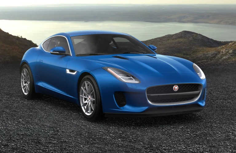 2020 Jaguar F-Type Velocity Blue