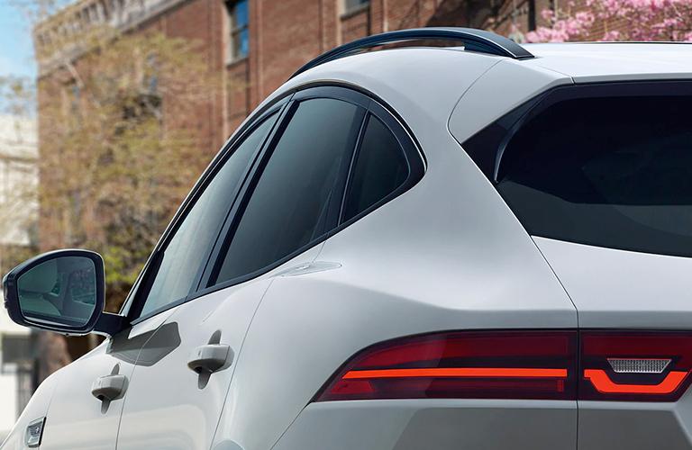 2020 Jaguar E-PACE back window