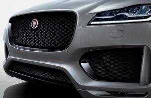 2020 Jaguar F-Pace front end