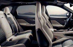 2020 Jaguar F-Pace Seats