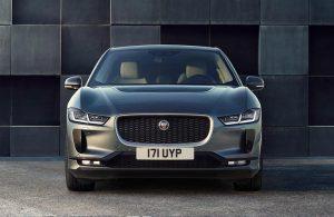 2020 Jaguar I-PACE front end