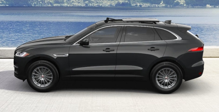 2020 Jaguar F-PACE Borealis Black