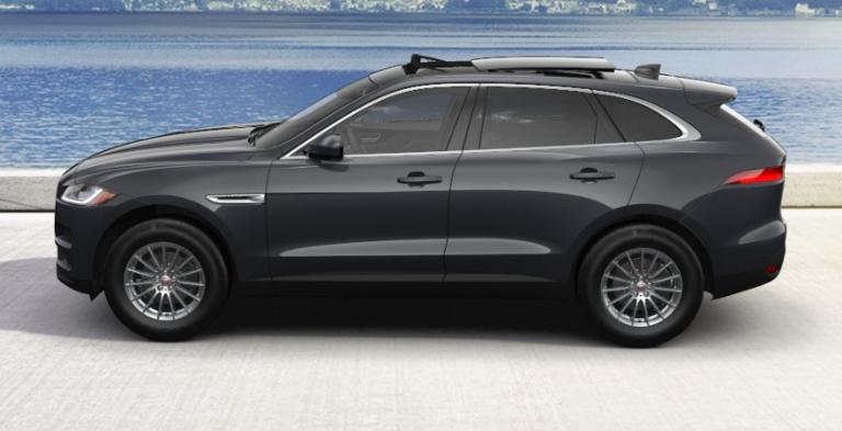 2020 Jaguar F-PACE Bosphorus Grey