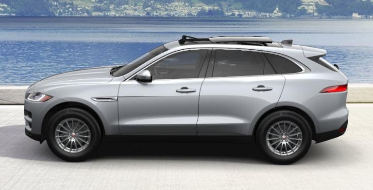 2020 Jaguar F-PACE Indus Silver Metallic