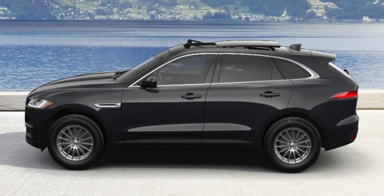 2020 Jaguar F-PACE Ligurian Black