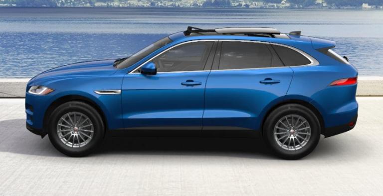 2020 Jaguar F-PACE Velocity Blue