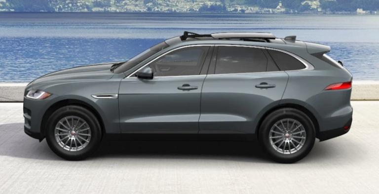 2020 Jaguar F-PACE Windward Grey