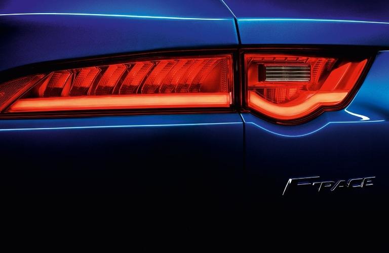 2020 Jaguar F-PACE Badging