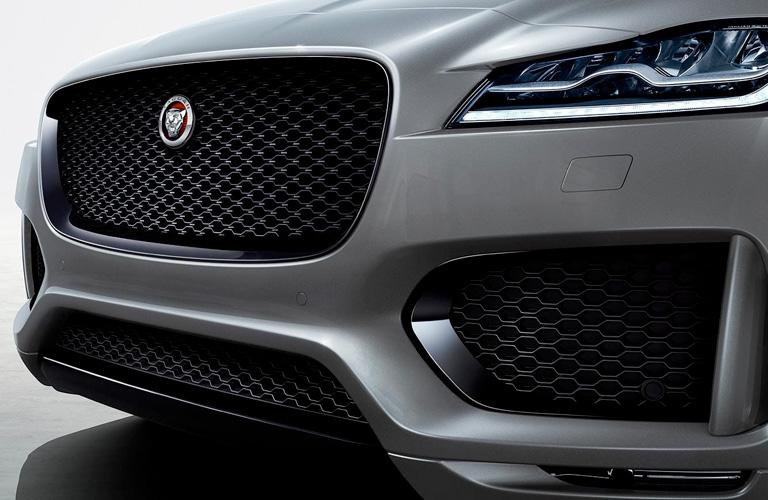 2020 Jaguar F-PACE front grille