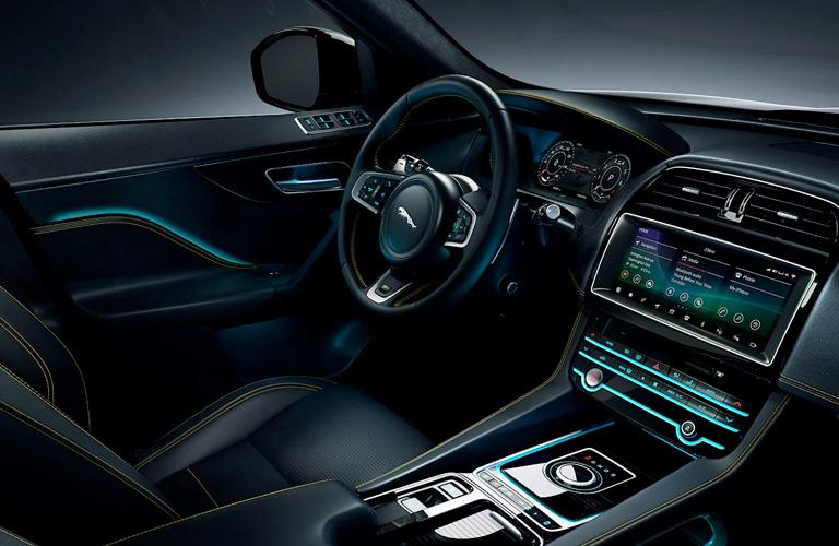 2020 Jaguar F-PACE Driver's Cockpit