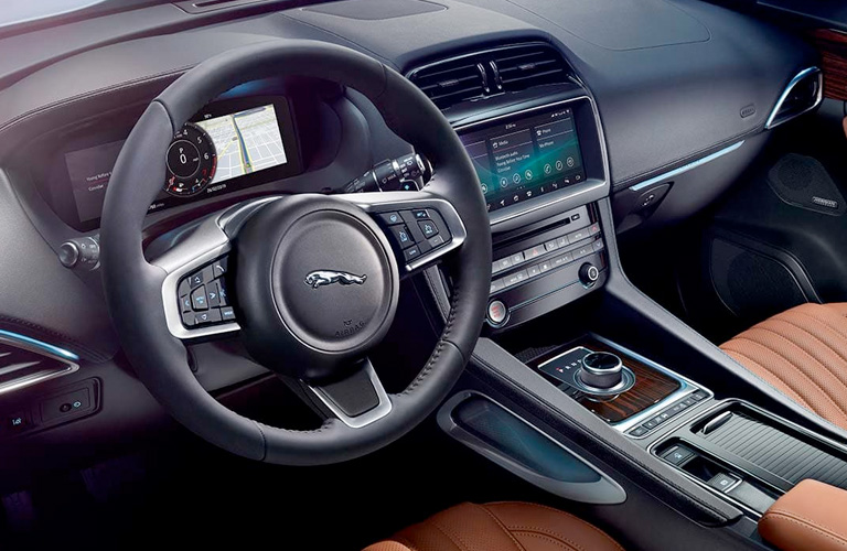 2020 Jaguar F-PACE Dashboard