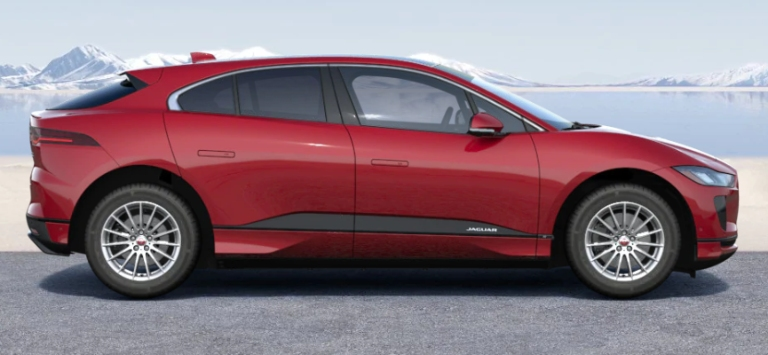 2020 Jaguar I-PACE Firenze Red