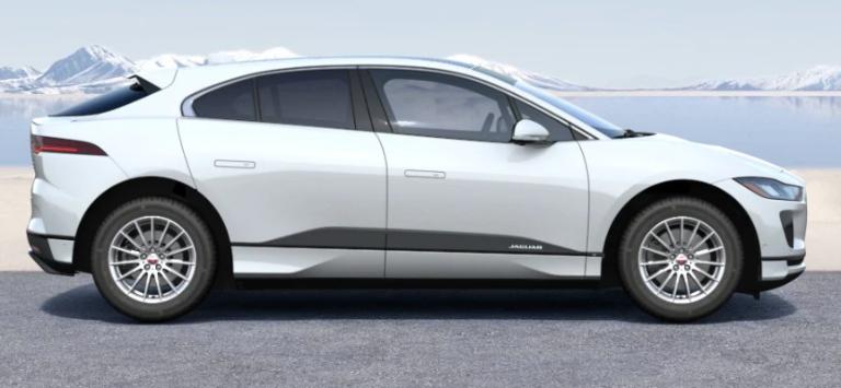 2020 jaguar I-PACE Fuji White