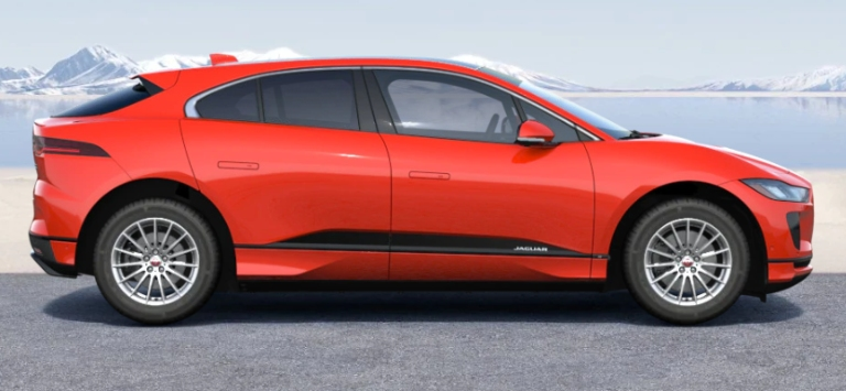 2020 Jaguar I-PACE Photon Red
