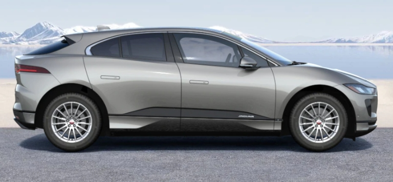 2020 Jaguar I-PACE Silicon Silver