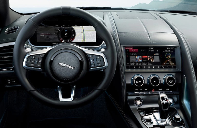 2021 Jaguar F-TYPE Dashboard