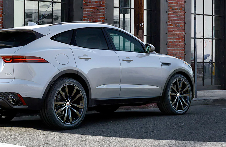 2020 Jaguar E-PACE on the side of the road