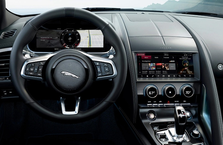 Behind the wheel of the 2021 Jaguar F-TYPE