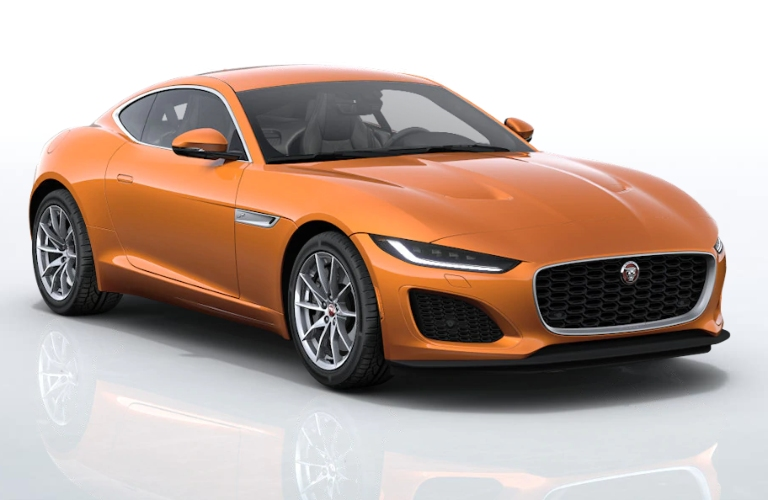 2021 Jaguar F-TYPE Atacama Orange