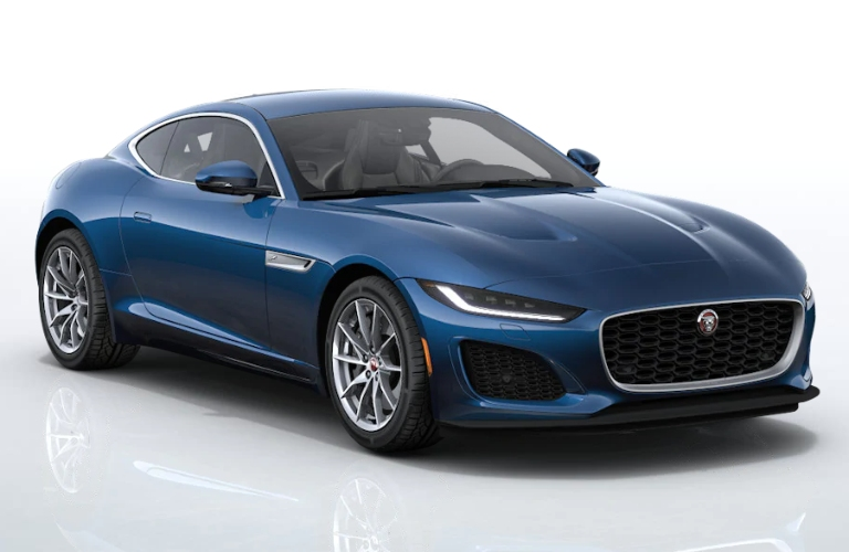 2021 Jaguar F-TYPE Bluefire Blue