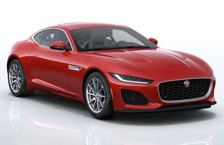 2021 Jaguar F-TYPE Caldera Red