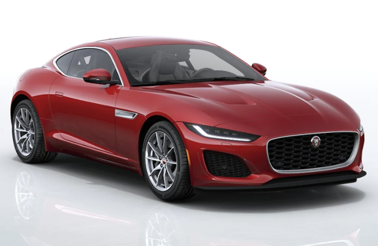 2021 Jaguar F-TYPE Firenze Red