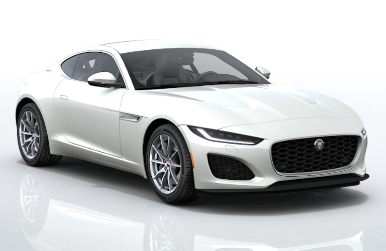 2021 Jaguar F-TYPE Icy White