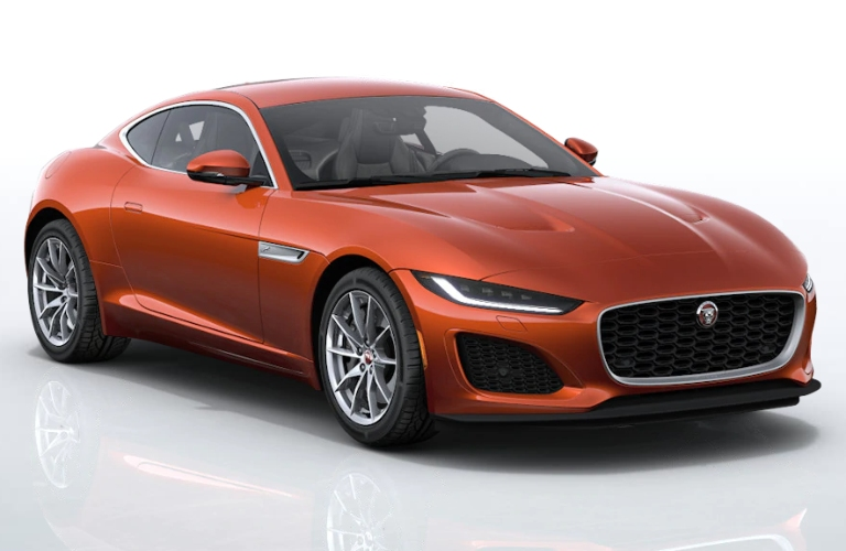 2021 Jaguar F-TYPE Sanguinello Orange