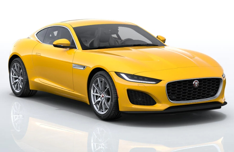 2021 Jaguar F-TYPE Sorrento Yellow