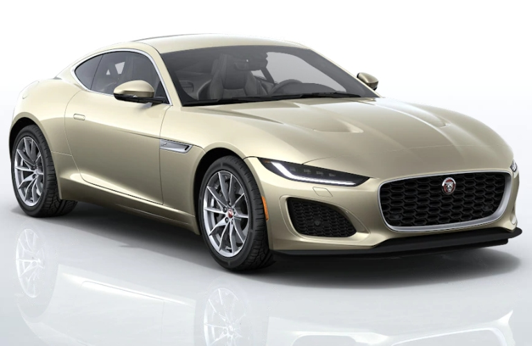 2021 Jaguar F-TYPE Sunset Gold