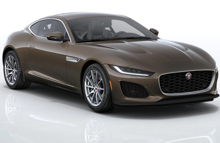 2021 Jaguar F-TYPE Tormaline Brown
