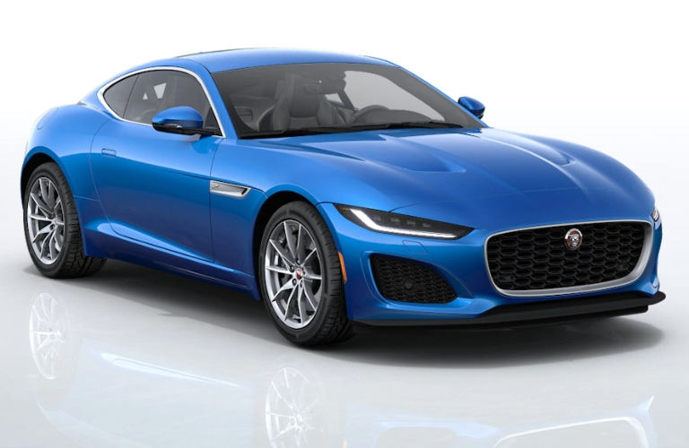 2021 Jaguar F-TYPE Velocity Blue