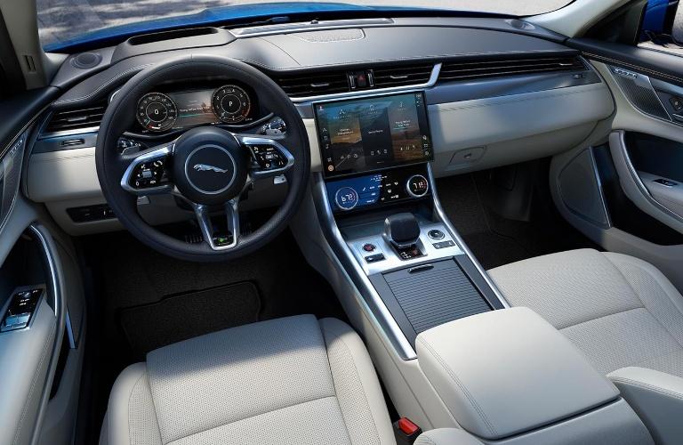 2021 Jaguar XF dashboard