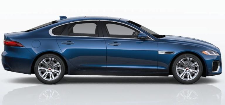 2021 Jaguar XF Bluefire Blue