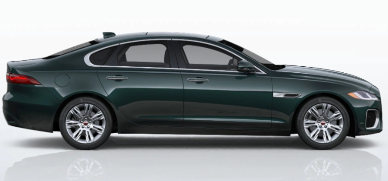 2021 Jaguar XF British Racing Green