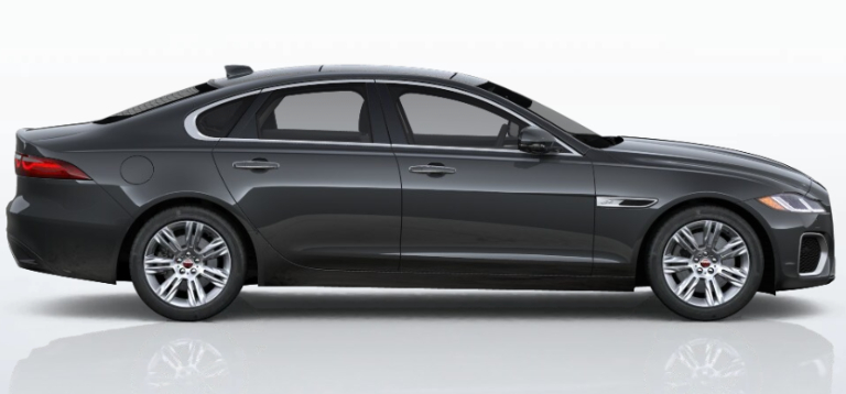 2021 Jaguar XF Carpathian Grey
