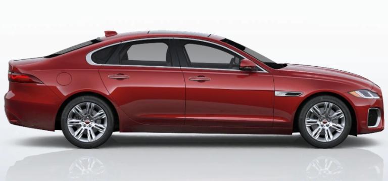 2021 Jaguar XF Firenze Red