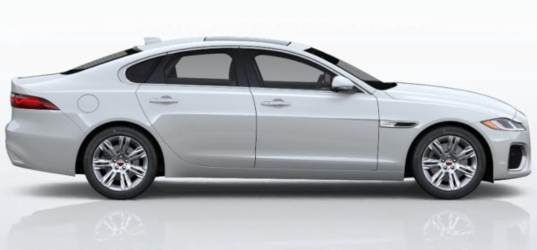 2021 Jaguar XF Fuji White