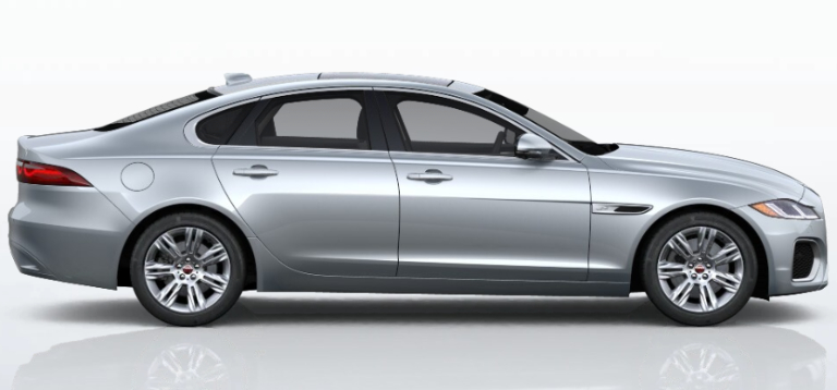 2021 Jaguar XF Hakuba Silver