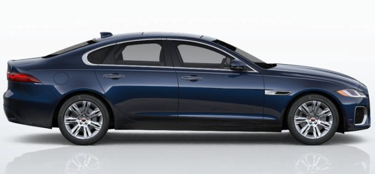 2021 Jaguar XF Portofino Blue