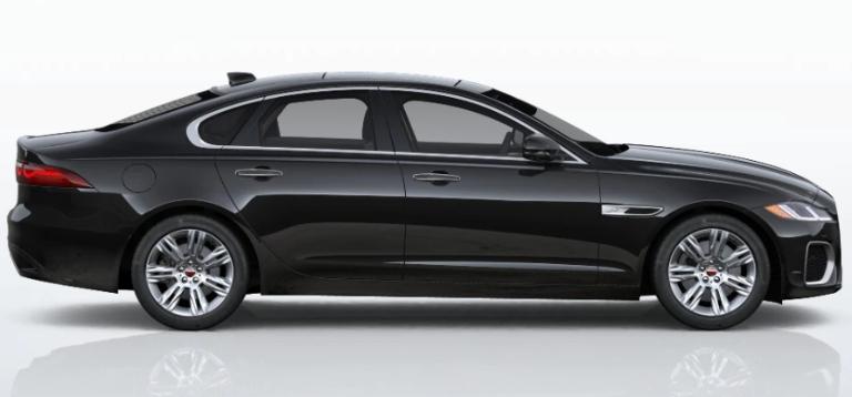 2021 Jaguar XF Santorini Black