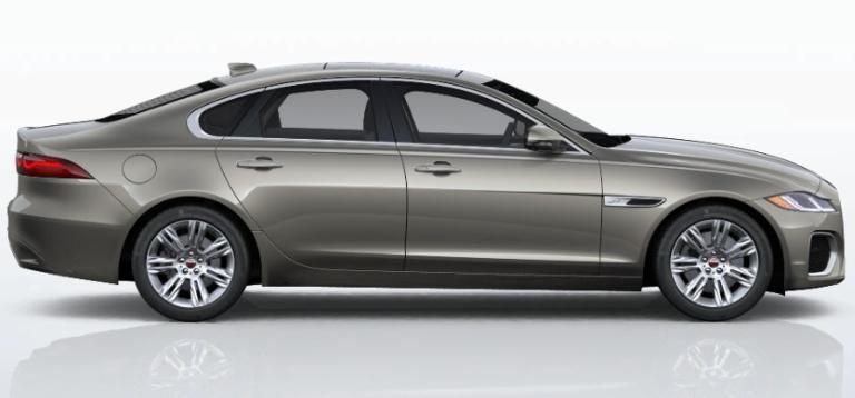 2021 Jaguar XF Silicon Silver