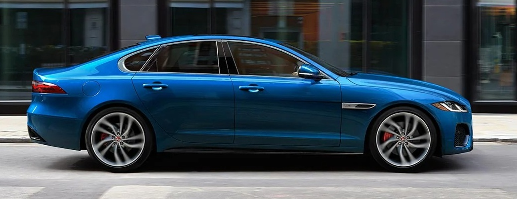 2021 Jaguar XF on the side of the road
