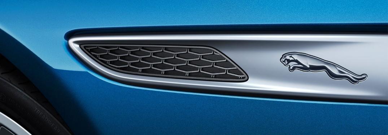 2021 Jaguar XF Jaguar logo